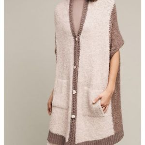 NWT Anthro sleeping on snow cocoon cardigan